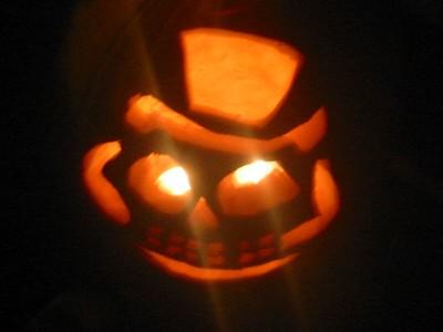 Jack-o-lanterns...