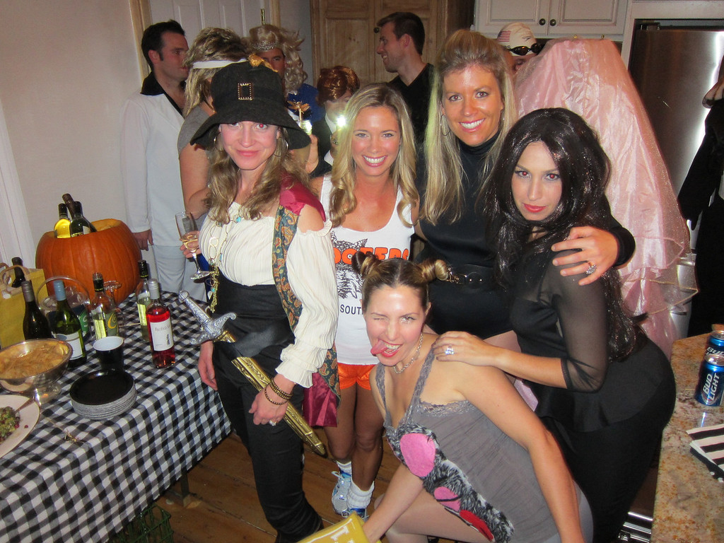 Jack Sparrow's girl, Hooters chick, Beyonce, Kim Kardashian, and Miley