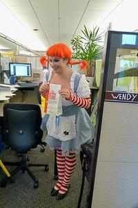 Jill as Wendy