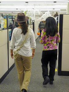 Mimi and Rebecca