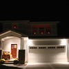 Here's our home from the outside with our first ever Halloween and Fall Thanksgiving Candles.