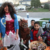 When this tribe arrived, we gave them all the candy that they wanted.....wouldn't you ?