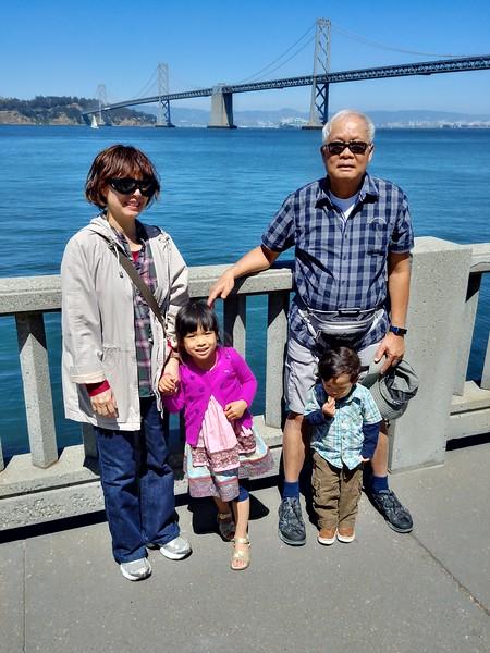 Hannah's 4th Birthday and SF Visit