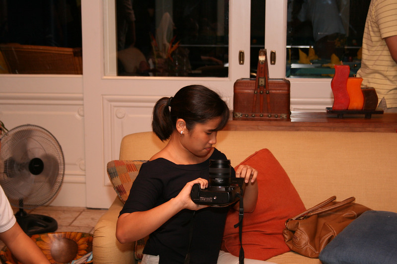 pepay and her camera