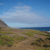 Going for a run -start at Kaena Point