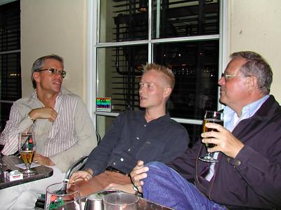 Tom, Søren og Leif