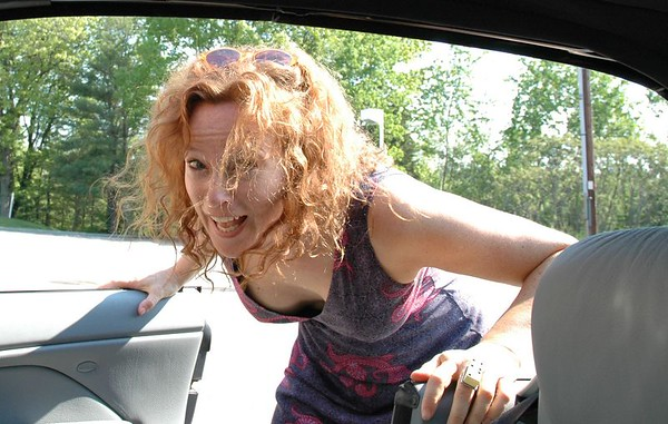 Heidi stops by (June 2005)