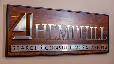 Hemphill Search Group Office Sign