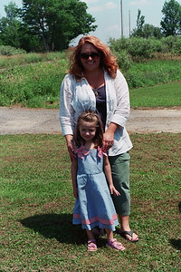 Holly and daughter Julia