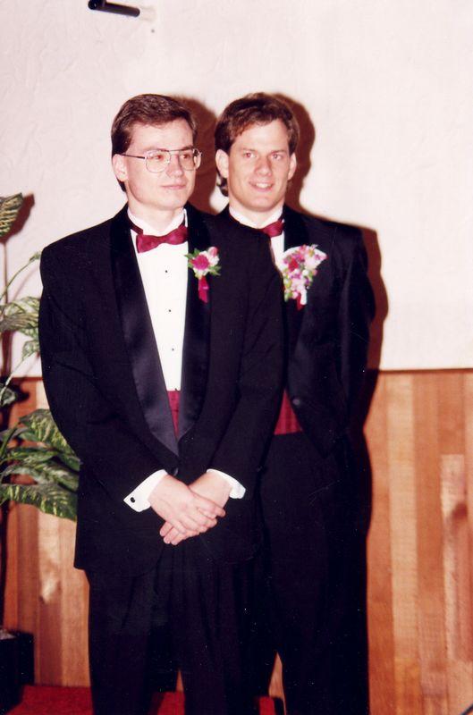 Stuart's Wedding & Family