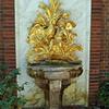 Outdoor Gold Fountain