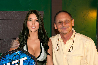 Howard With The Real UFC Ring-Girl Arianny Celeste