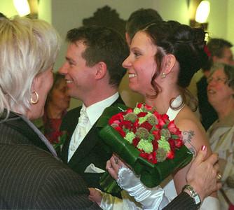 Trouwdag Wouter en Sandy