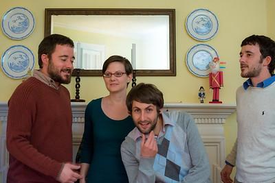 Ian and Molly Christmas Pics