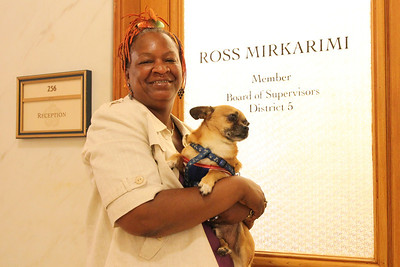 Idell Wilson also volunteers in the office of San Francisco District 5 Supervisor Ross Mirkarimi.