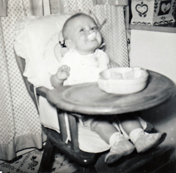 Becky at 7 months old