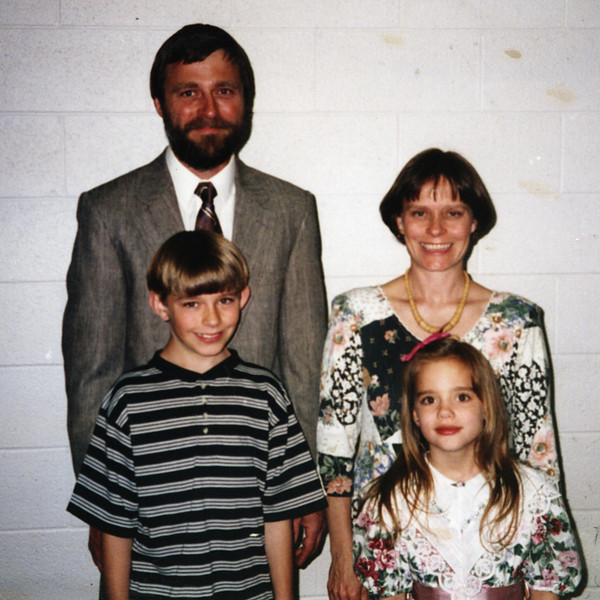 Becky & Jon with Cody & Torey, c. 1995?