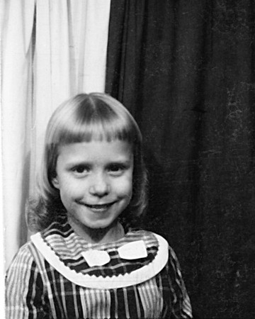 Becky at age 8 or 9?