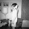 Becky modeling her back cast - 14 yrs
