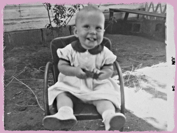 Becky - One Year Old, June 1954