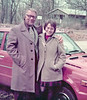 Becky & her dad, Vernon Beachy, at Goshen College