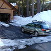 Snow at Cabin 0n 19March2010
