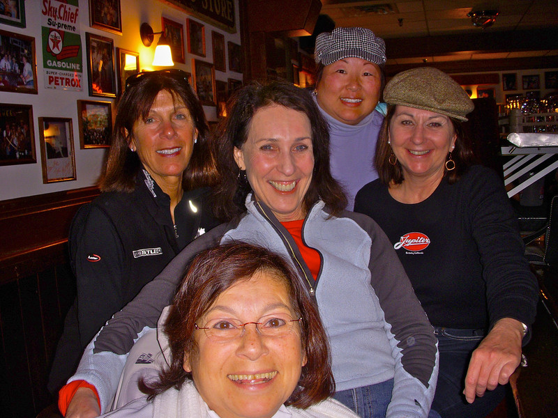 Sonia, Denise, Jessica, Angie, and Kathy at Vail
