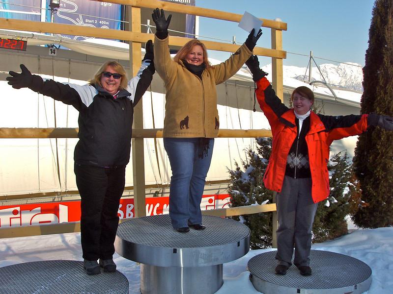 Innsbruck Olympic Podium