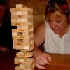 Jenga Master Karen Focusing
