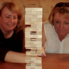 Jenga Masters Marie and Karen