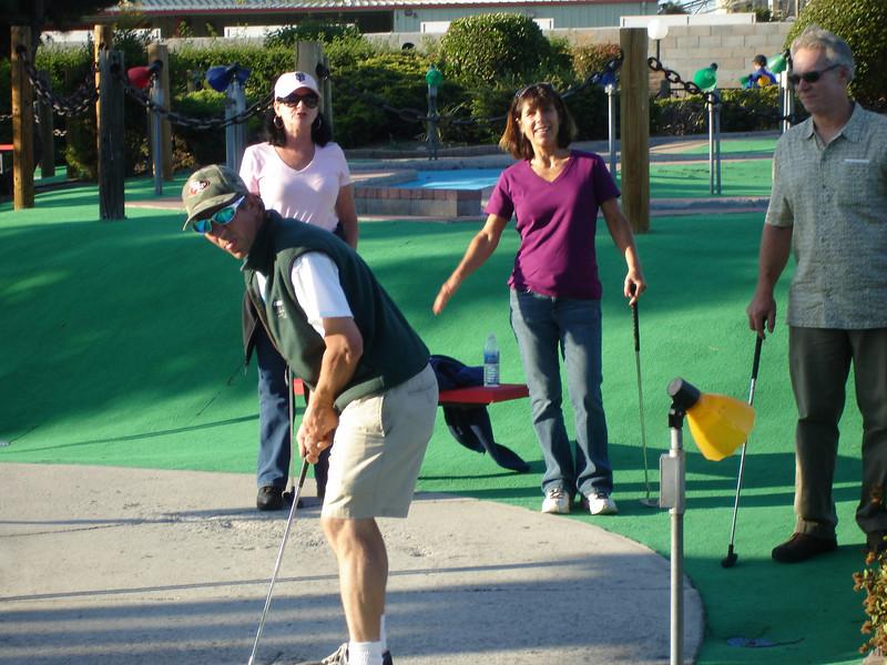 Golf Night: Dave, Sara, Denise, Brian