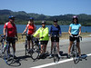 Sunday Bike Ride: Maurice, Pat, Susan, Cathy, Kathy at Crystal Springs