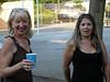 Inskier July Potluck at Burton Park: Mariann and Terri