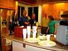 Mary Ann's Potluck - Ed, Dave, Don, Cathy