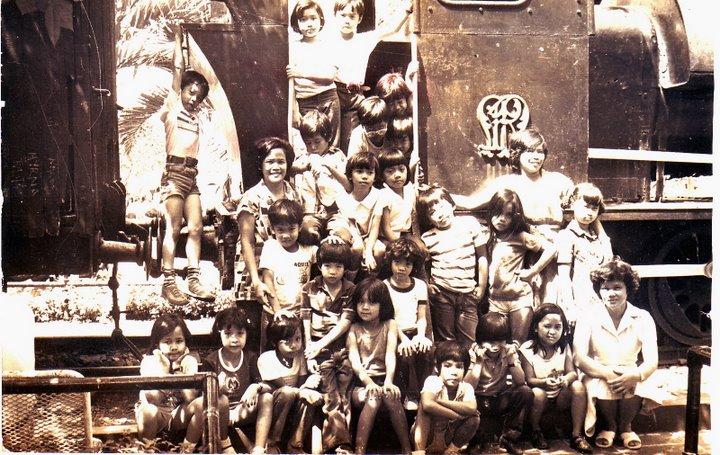 Grade 01 at fort santiago (1981)