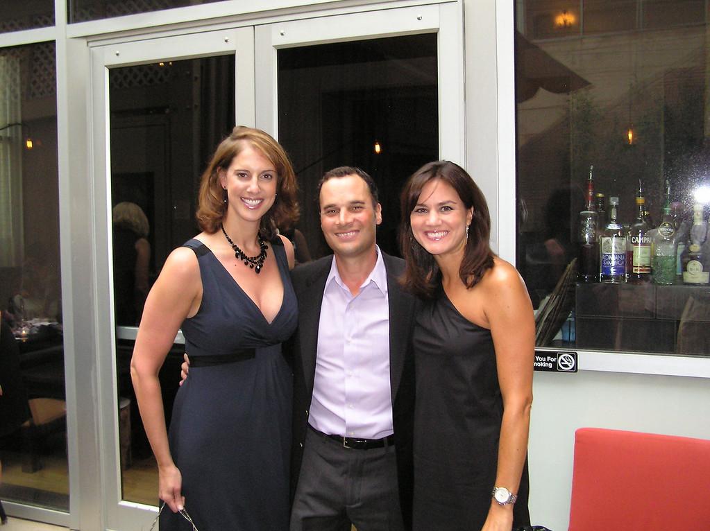 Sara, Marc and Adrienne