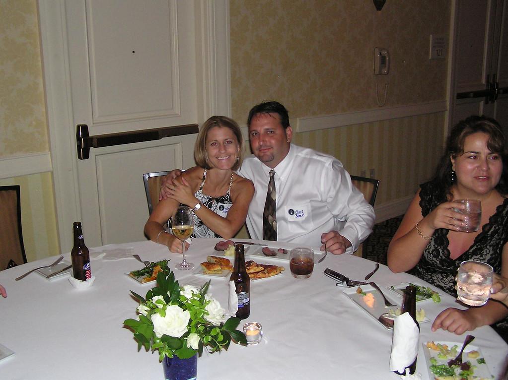 Kim, Brock and Rhonda