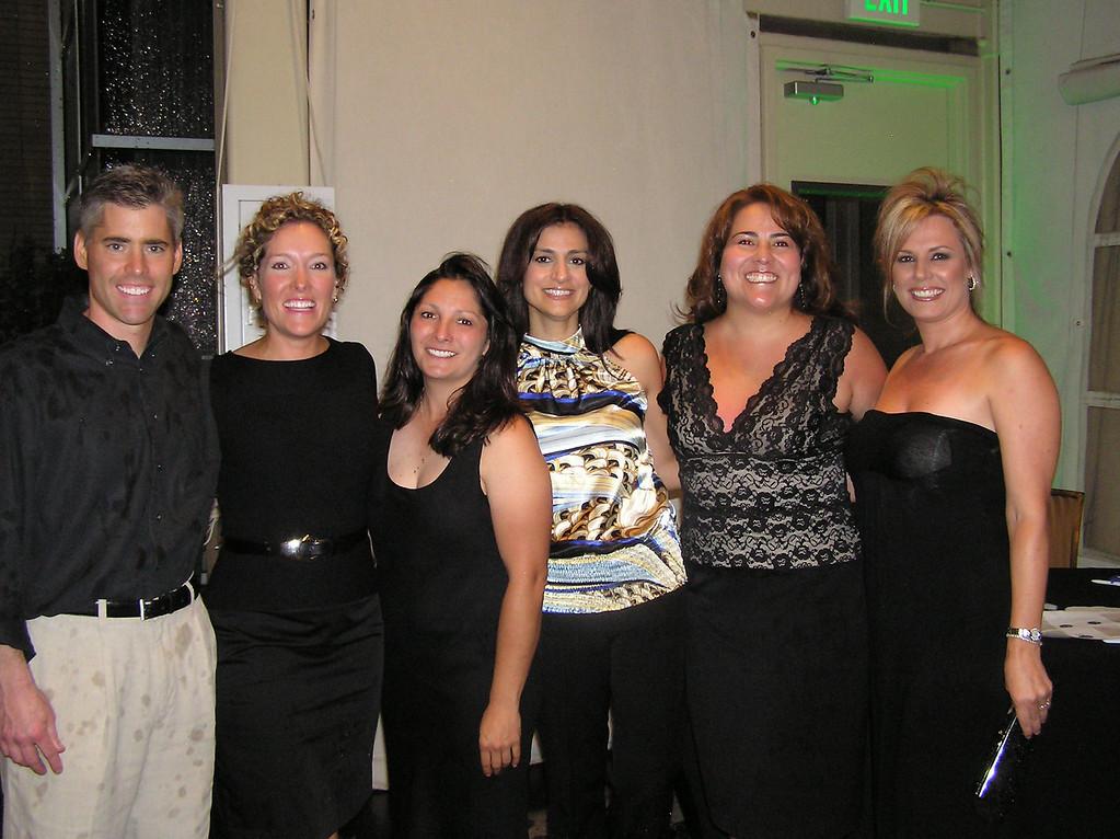 Stephanie's husband, Stephanie, Sheri, Tanya, Rhonda and Patty