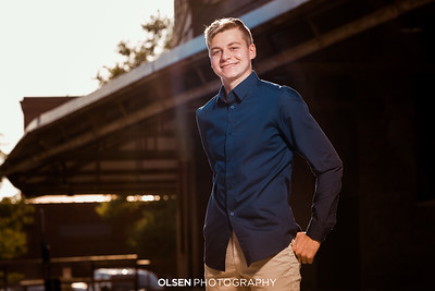 081819 Jack Bailey Senior Photography Session Omaha, Nebraska Olsen Photography // Nathan Olsen