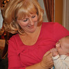 Grandma Linda loves holding and cuddling with Jack...his 1st Thanksgiving!