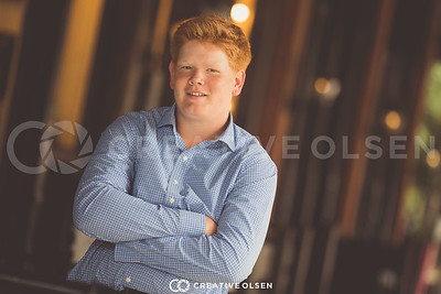 081517 Jackson and Cooper Clark Senior Portrait Session Creative Olsen