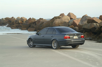 BMW M5 beach shoot:Little Talbot Island, Florida
