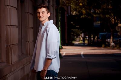 100819 Jake Hieman Senior Photography Olsen Photography Gretna, Nebraska Created By // Nathan Olsen