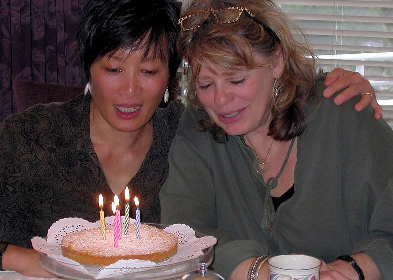 Sat 1-07-06 Birthday Party - Birthday Girls copy