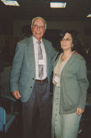 "Lawrence Lader with Jane PRCH, 2003. ""Before There Was Choice."" Photo courtesy of Georgia Guida."