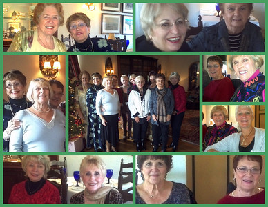 Jazzercise Christmas Lunch 2012