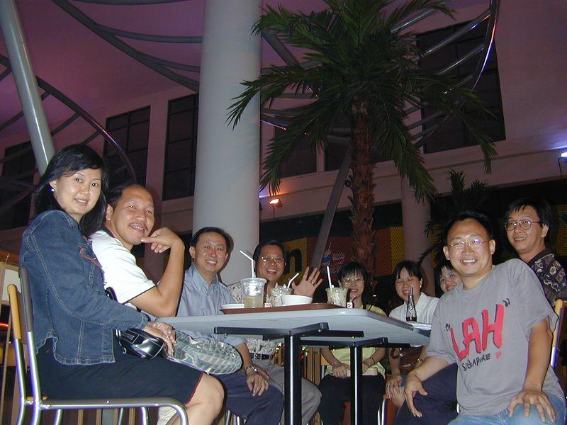 Fatimah, Kim Yong, Ronny, Hendro, Farida, Lanie, Ana, Merkuri & me