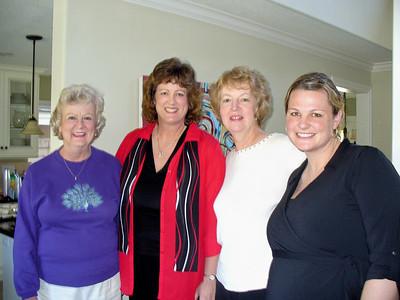 Carol, Candy, Mary Ann, Jenn
