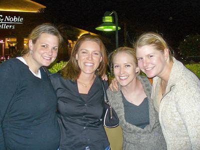 Jenn, Jill, Ari, Trisha