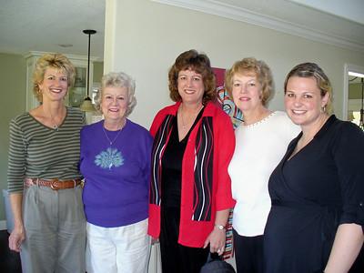 Karen, Carol, Candy, Mary Ann, Jenn